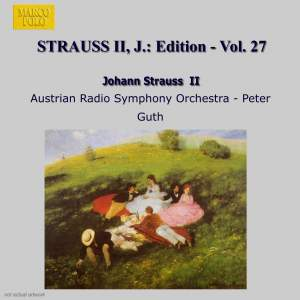 Johann Strauss II Edition, Volume 27 Product Image
