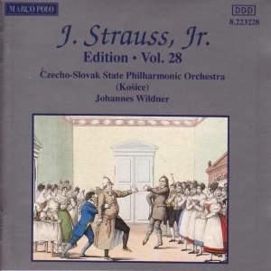 Johann Strauss II Edition, Volume 28