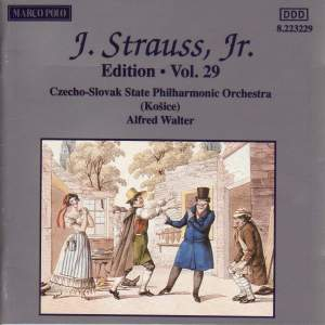 Johann Strauss II Edition, Volume 29