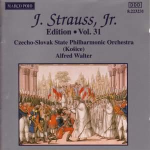 Johann Strauss II Edition, Volume 31 Product Image