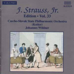 Johann Strauss II Edition, Volume 33 Product Image