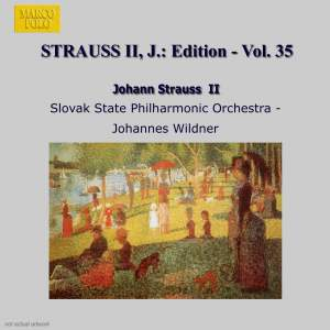Johann Strauss II Edition, Volume 35 Product Image