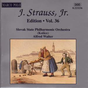 Johann Strauss II Edition, Volume 36