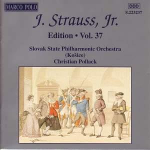 Johann Strauss II Edition, Volume 37 Product Image