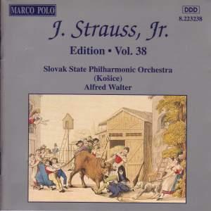 Johann Strauss II Edition, Volume 38 Product Image