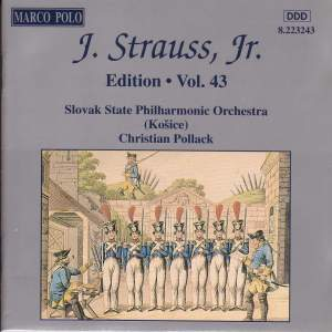 Johann Strauss II Edition, Volume 43