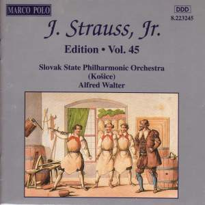 Johann Strauss II Edition, Volume 45 Product Image
