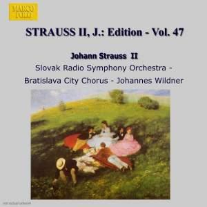 Johann Strauss II Edition, Volume 47 Product Image