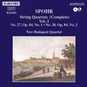 Louis Spohr: String Quartets, Volume 1 Product Image