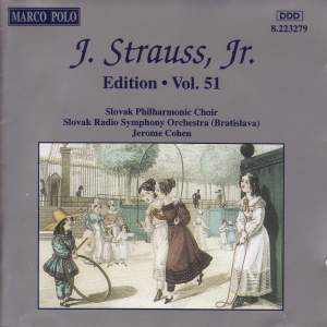 Johann Strauss II Edition, Volume 51 Product Image