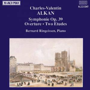 Alkan: Symphonie, Overture and Two Etudes Product Image