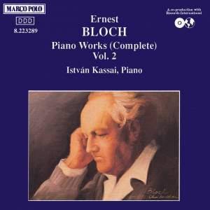 Bloch: Piano Works Vol. 2 Product Image