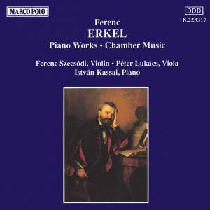 Ferenc Erkel: Piano Works & Chamber Music Product Image
