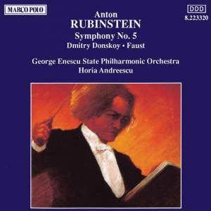 Rubinstein: Symphony No. 5 Product Image