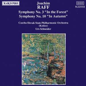 Raff: Symphonies Nos. 3 and 10 Product Image