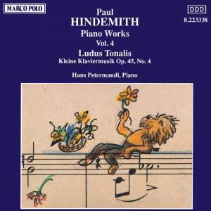 Hindemith: Piano Works, Vol. 4 Product Image