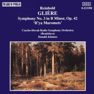 Glière: Symphony No. 3 in B minor, Op. 42 'Il'ya Murometz' Product Image