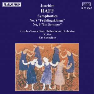 Raff: Symphonies Nos. 8 and 9 Product Image