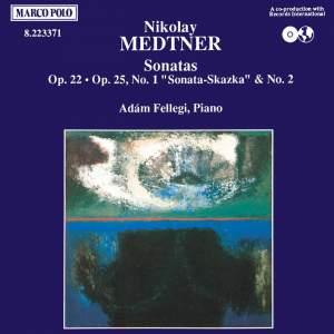 Medtner: Sonatas Product Image