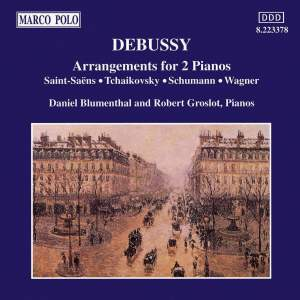 Debussy: Arrangements for 2 Pianos Product Image