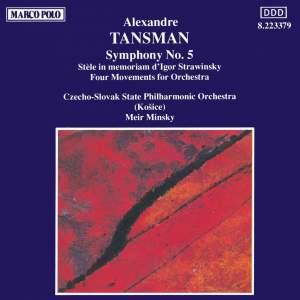 Tansman: Symphony No. 5 Product Image