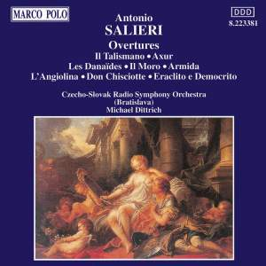 Salieri: Overtures Product Image