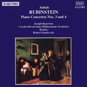 Rubinstein: Piano Concertos Nos. 3 & 4 Product Image