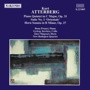 Atterberg: Piano Quintet, Suite No. 1 & Horn Sonata Product Image