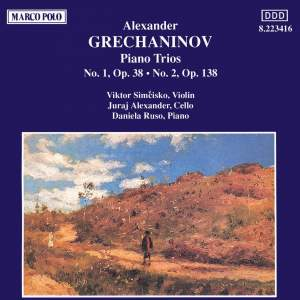 Grechaninov: Piano Trios 1 & 2 Product Image