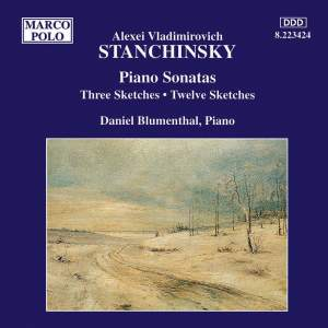Alexei Stanchinsky: Piano Works Product Image