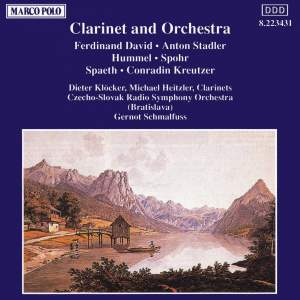 Clarinet and Orchestra Product Image