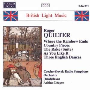 Quilter: Where the Rainbow Ends, Country Pieces and other works Product Image