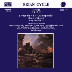 Havergal Brian: Symphonies Nos. 4 and 12 Product Image