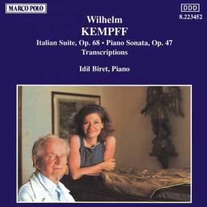 Wilhelm Kempff: Bach Transcriptions & Original Works Product Image