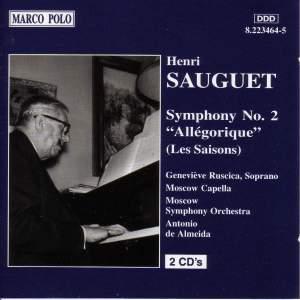 Sauguet: Symphony No. 2 'Allegorique' Product Image