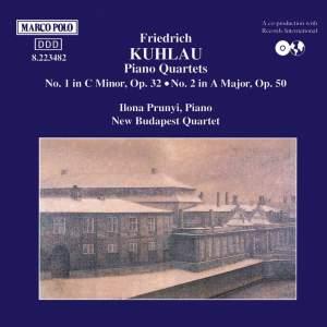 Kuhlau: Piano Quartets Nos. 1 and 2 Product Image