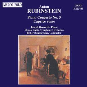 Rubinstein: Piano Concerto No. 5 & Caprice Russe Product Image