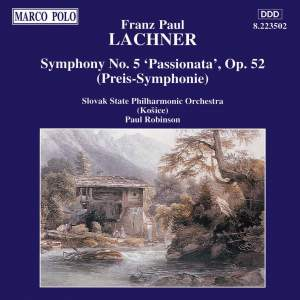 Lachner, F: Symphony No. 5 in C minor, Op. 52 'Passionata' Product Image