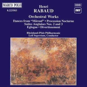 Rabaud: Orchestral Works Product Image
