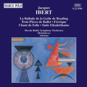 Ibert: La Ballade de la Geole Reading and other works Product Image