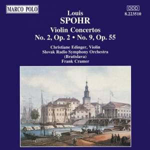 Spohr: Violin Concertos Nos. 2 and 9 Product Image