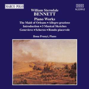 William Sterndale Bennett: Piano Works Vol. 1 Product Image