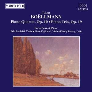 Boellmann: Piano Quartet & Piano Trio Product Image