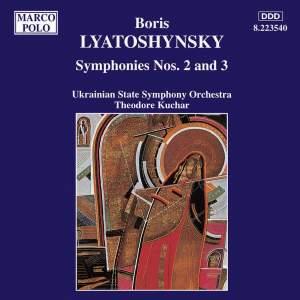 Lyatoshinsky: Symphonies Nos. 2 and 3 Product Image