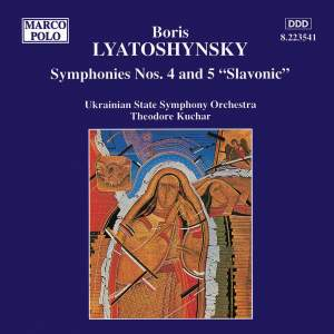 Lyatoshinsky: Symphonies Nos. 4 and 5 Product Image