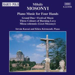 Mihaly Mosonyi: Piano Music for Four Hands Product Image