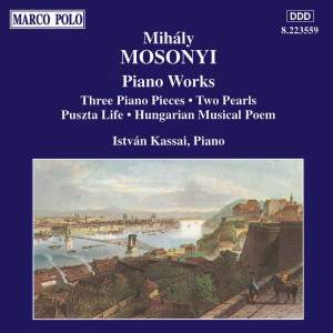 Mihaly Mosonyi: Piano Works Vol. 3 Product Image