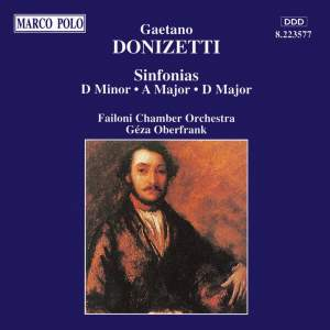 Donizetti: Sinfonias Product Image