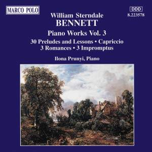 Sterndale Bennett: Piano Works, Vol. 3 Product Image