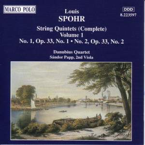 Spohr: String Quintets, Vol. 1